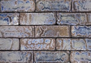 Imperial Brick Glazed Brick Tiles - Azurite