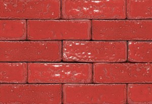 Imperial Brick Glazed Brick Tiles - Ruby