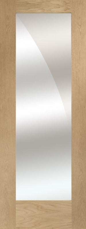 XL JOINERY DOORS -  GOSHAP1030M Pattern 10 Oak with Mirror  GOSHAP1030M