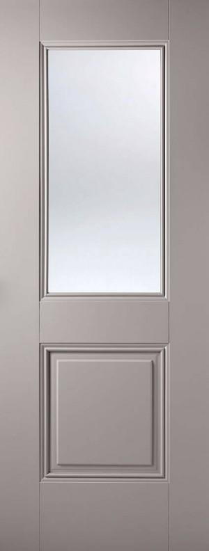 "LPD - Internal Door - Grey Arnhem 1L 1981 x 686 (27"")  ARNGREGL27"