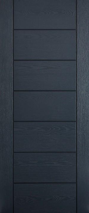 "LPD - External Door - GRP Modica Grey 1981 x 838 (33"")  GRPMODGRE33"