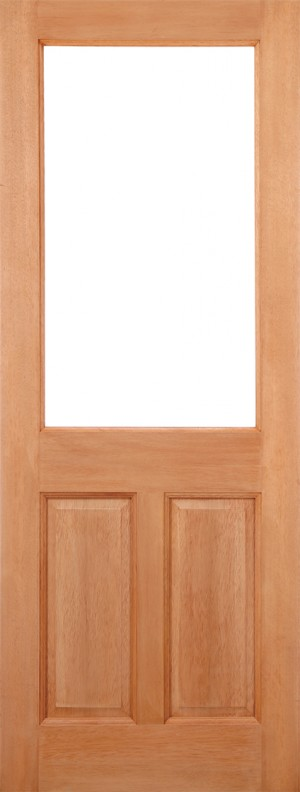 "LPD - External Door - Hardwood 2XG 2P Dowelled 1981 x 762 (30"")  XG2P303"