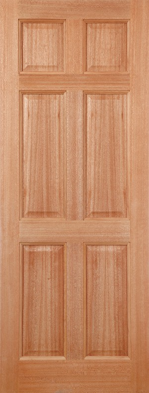 "LPD - External Door - Hardwood Colonial 6P M&T 1981 x 762 (30"")  MTCOL30"