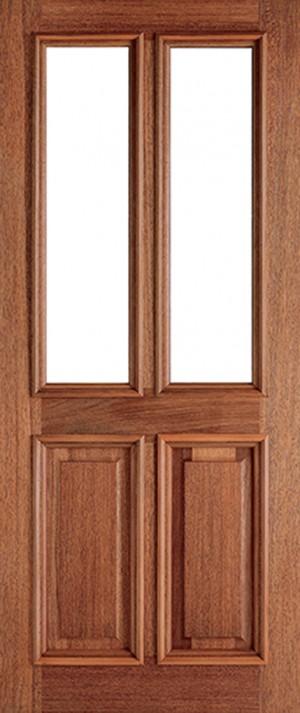 "LPD - External Door - Hardwood Derby Unglazed 2L 2083 x 864 (34"")  MTDER34"