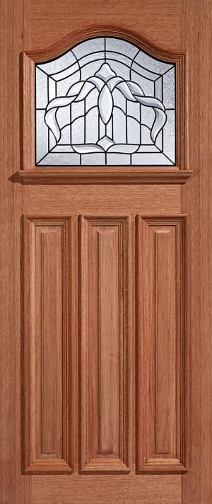 "LPD - External Door - Hardwood Estate Crown Glazed 1L 1981 x 762 (30"")  MTESTCRTG30"