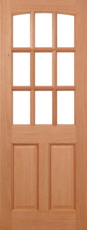 """LPD - External Door - Hardwood Georgia Dowelled 1981 x 762 (30"""")  GEO303"""