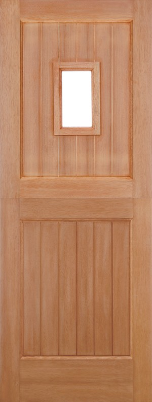 "LPD - External Door - Hardwood Stable Straight Top Unglazed 1L M&T 1981 x 762 (30"")  MTBAR30STR"