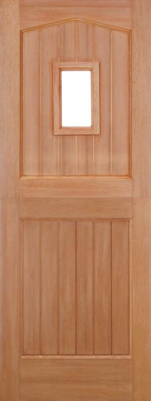 "LPD - External Door - Hardwood Stable Unglazed 1L M&T 2032 x 813 (32"")  MTBAR32"