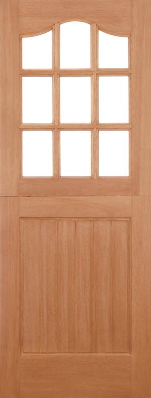 "LPD - External Door - Hardwood Stable Unglazed 9L Dowelled 1981 x 762 (30"")  STA303"