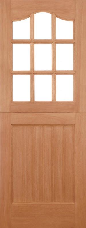 """LPD - External Door - Hardwood Stable Unglazed 9L M&T 1981 x 838 (33"""")  MTSTA33"""