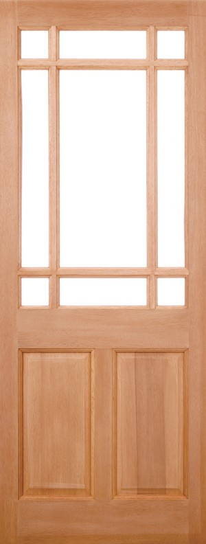 "LPD - External Door - Hardwood Warwick M&T 1981 x 838 (33"")  MTWAR33"