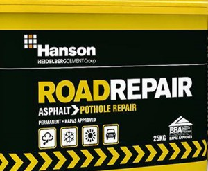 Road Repair Asphalt 25kg Tub  HCCRRASP25