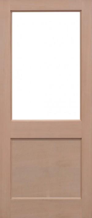 "LPD - External Door - Hemlock 2XG Unglazed 1981 x 686 (27"")  H2XG4427"