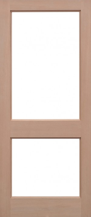 "LPD - External Door - Hemlock 2XGG Unglazed 1981 x 838 (33"")  H2XGG4433"