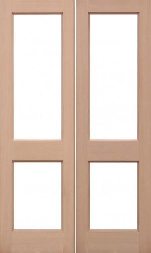LPD - Internal Door - Hemlock Unglazed 2XGG Pairs 1981 x 1168 mm  HPRS2XGG46