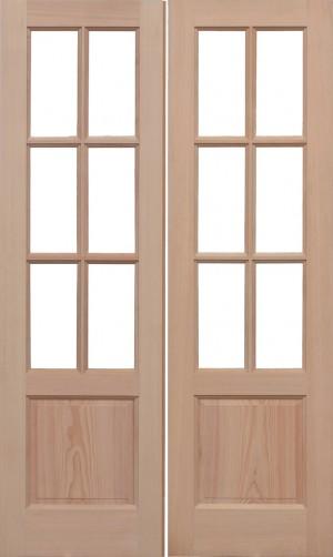 LPD - Internal Door - Hemlock Unglazed GTP2P Pairs 1981 x 1168 mm  HPRSGTP2P46