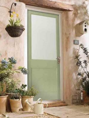 JELDWEN Hemlock Unglazed Doors