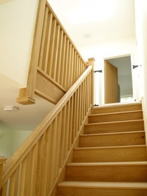 Pear Stairs - Heronsdale Straight Staircase (106)