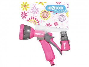 Seasons Multispray Gun & Fittings  HOZ2476PINK