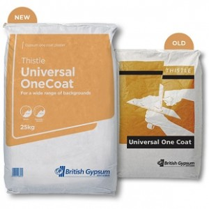 THISTLE UNIVERSAL ONE COAT PLASTER - 25KG