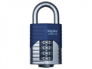 Vulcan Boron Shackle Combination Padlock
