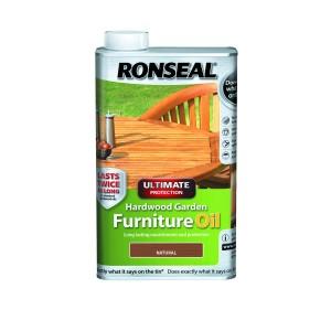 Ronseal Ultimate Hardwood Furniture Oil 500ml Natural [RON37355]