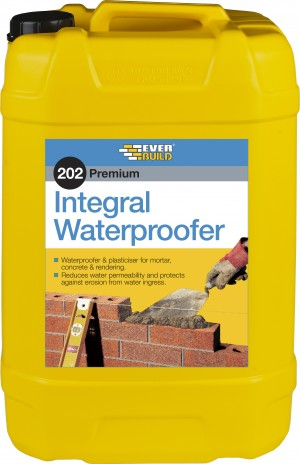SikaEverbuild 202 Integral Liquid Waterproofer