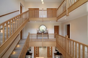 Pear Stairs - Maple House Straight Staircase (608)