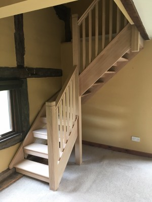 Pear Stairs - Threshing Barn Staircase (614)
