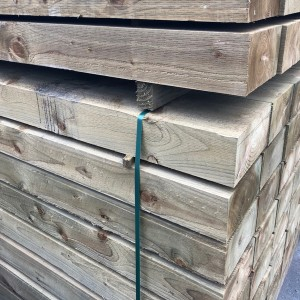 Incised Treated Sleepers 125 x 250 x 2.4m [125250ITS24]