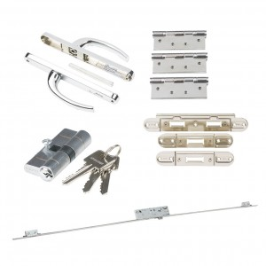LPD - External Door - Ironmongery External Premier Rear Door Set  HARDEXTREARPREM