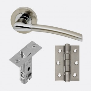 LPD - Internal Door - Ironmongery Mercury Handle Hardware Pack 230 x 160 mm  HARDMER