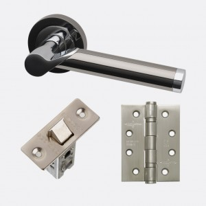 LPD - Internal Door - Ironmongery Polaris Handle Hardware Pack 230 x 160 mm  HARDPOL