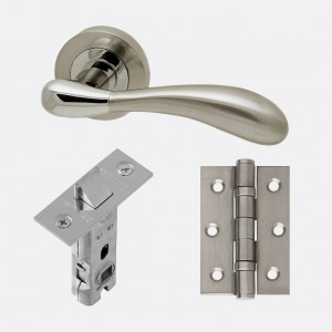 LPD - Internal Door - Ironmongery Venus Hardle Hardware Pack 230 x 160 mm  HARDVEN