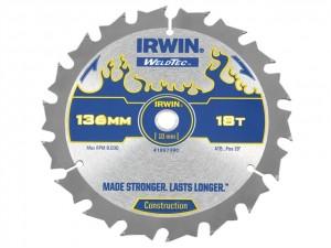 Weldtec Cordless Circular Saw Blade  IRW1897390