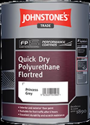 Johnstones Quick Drying Polyurethane Flortred