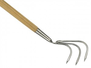 Long Handled 3 Prong Cultivator