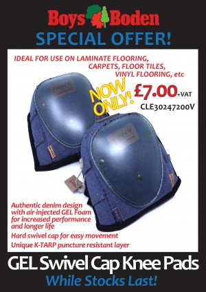 GEL Swivel Cap Knee Pads CLE30247200V  CLE30247200V