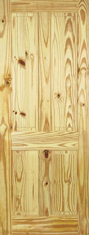 """LPD - Internal Door - Knotty Pine 4P 1981 x 610 (24"""")  PIN4P24"""