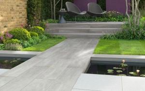 STONEMARKET PAVING SLABS -  Knotwood vitrified garden paving