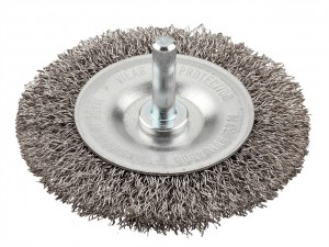 HSS Crimped Wheel Brush Coarse  KWB607330