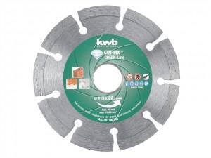 CUT-FIX GREEN-LINE Multipurpose Discs  KWB798140
