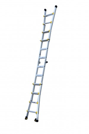 YOUNGMAN 302330 Transforma 4 Tread Aluminium Ladder [YOU302330]  YOU302330