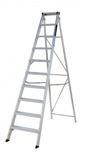 YOUNGMAN 31099618 10 Tread Builders Stepladder [WER31099618]  WER31099618