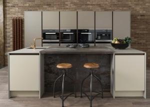 Symphony Linear Kitchens - Avant Painted