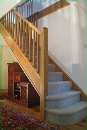 Pear Stairs - Lobs Wood Straight Staircase (577)