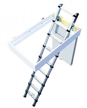 YOUNGMAN 30100000 Telescopic 2.6M Loft Ladder [YOU301000]  YOU301000