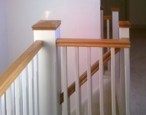Pear Stairs - Cadogan White Primed Staircase (369)