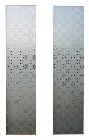 LPD - Internal Door - Malton Screenprint Glass Pack 875 x 179 mm  PPGPMAL27