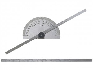 Protractor Type Depth Gauge